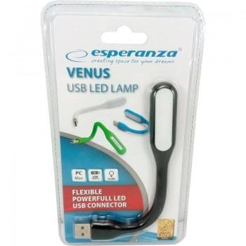 Lampa led USB neagra