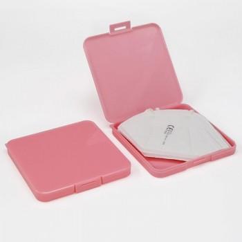 Carcasa roz portabila, 130x130x15mm