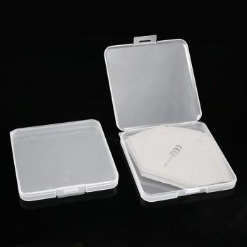 Carcasa transparenta portabila, 130x130x15mm
