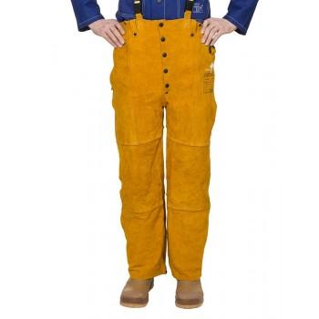 Pantaloni pentru sudor - WELDAS Golden Brown 44-2600