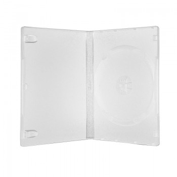 Carcasa 1 DVD transparenta