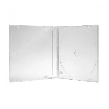 Carcasa 1 CD slim transparenta