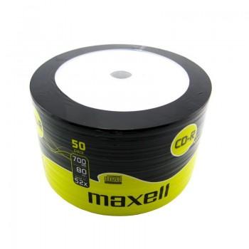 CD-R Maxell, 700MB, 52x, 50 buc