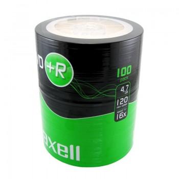 DVD+R Maxell, 4.7GB, 16x, 100 buc