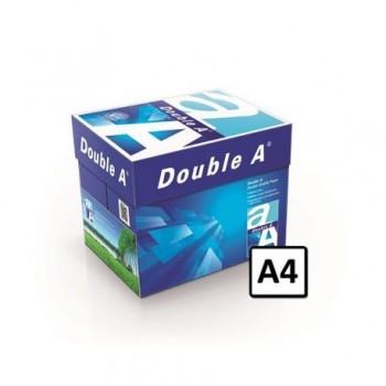 Hartie copiator A4 Double A, 80g/mp, 500 coli/top, 5 topuri/cutie