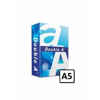 Hartie copiator A5  Double A Premium, 80 g/mp, 500coli/top