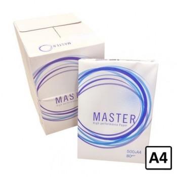 Hartie copiator A4 Master, 80 g/mp, 500coli/top, 5 topuri/cutie