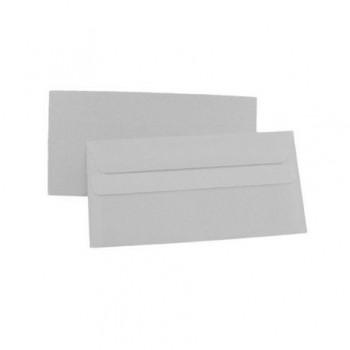 Plic DL, 110 x 220 mm, autoadeziv, alb, 25 bucati/set