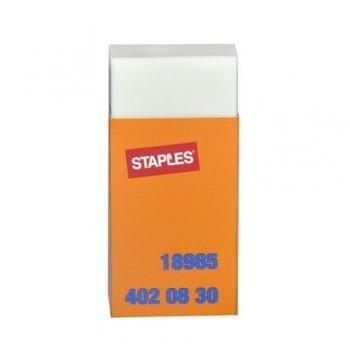 Radiera Staples, plastic