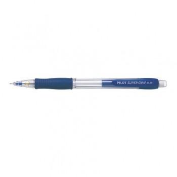 Creion mecanic Pilot Super Grip, 0.5 mm, albastru