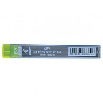 Mine creion mecanic Pilot BegreeN, 0.7 mm, 2B