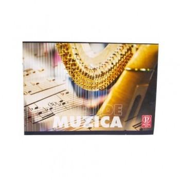 Caiet Pigna Clasic, 24 file, muzica