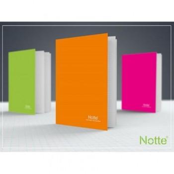 Caiet Notte Trend, A5, coperta PP, capsat, 40 file, matematica