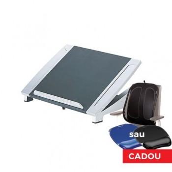 Suport laptop Riser + suport spate Mesh + mousepad gel, Fellowes