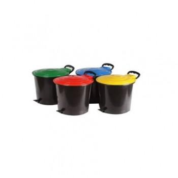 Set 4 cosuri gunoi pentru colectare selectiva