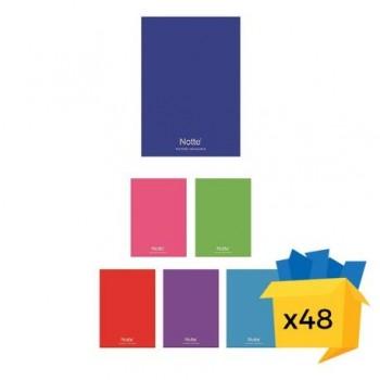 Caiet Notte School, A5, capsat, 80 file, dictando-matematica, 48/bax, matematica