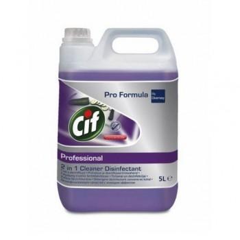 Dezinfectant pentru bucatarie Cif Pro Formula 2in1, 5 l