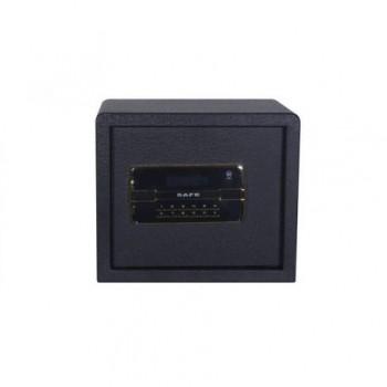 Seif electronic metalic 32 x 37.5 x 30 cm, negru