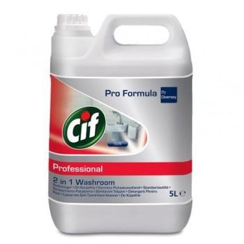 Detergent pentru baie 2in1 CIF, 5l