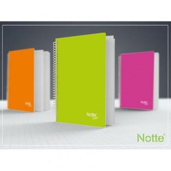 Caiet Notte Trend, A5, cu spira, 60 file, matematica
