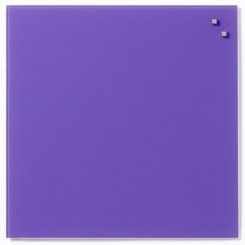 Tabla magnetica de sticla Naga, 45 x 45, violet aprins