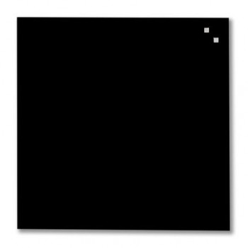 Tabla magnetica de sticla Naga, 45 x 45, negru