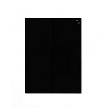 Tabla magnetica de sticla Naga, 60 x 80, negru