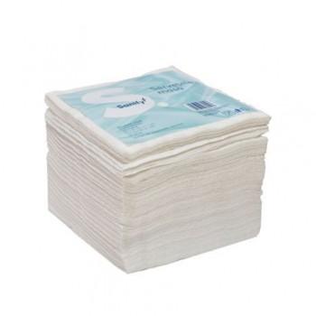 Servetele de masa Sanify 25 x 25 cm, 1 strat, 100 bucati/set