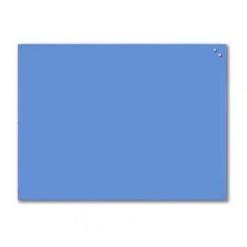 Tabla magnetica din sticla Naga, 60 x 80 cm, albastru