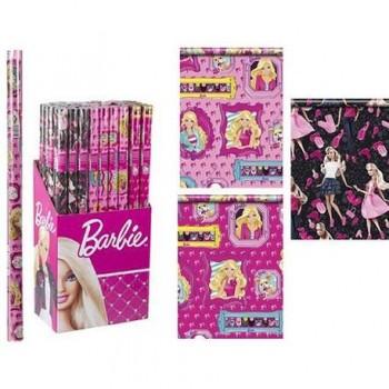 Hartie pentru ambalat Barbie, 200 x 70 cm