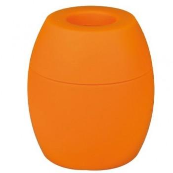 Dispenser magnetic Tu-K-No, pentru agrafe, portocaliu