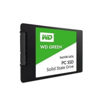SSD WD, 240GB, Green, SATA3, 6 Gb/s, 7mm, 2.5
