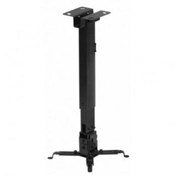 Suport tavan videoproiector Sopar, Telescopic, 430-650mm, Negru, TAPA, SOP23055