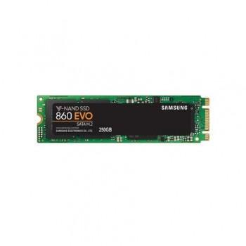 SSD Samsung, 250GB, 860 Evo, M.2 2280, SATA, rata transfer r/w: 550/520 mb/s