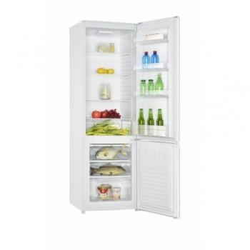 Combina frigorifica Heinner HC-H273WA+, capacitate bruta: 282 L, capacitate neta: 273 L, clasa energetica: A+, 2 usi, 3 rafturi de sticla frigider, 3