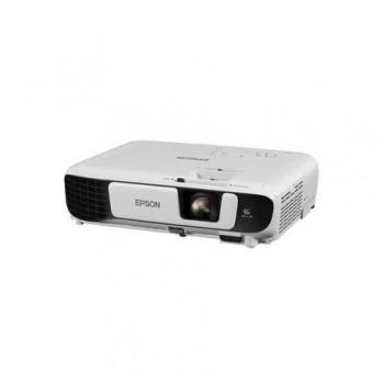 Proiector Epson EB-W41 3LCD, WXGA, 1280 x 800, 16:10, HD Ready 3600 lumeni,15000:1,lampa6000/1000 ore(Standard/Eco), USB 2.0 tip A, USB 2.0 tip B,