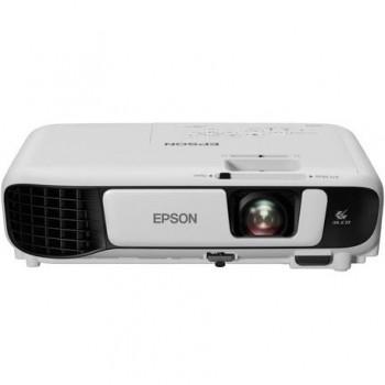 Proiector Epson EB-S41 3LCD, SVGA 800 x 600, 3300 lumeni, 15000:1,lampa6000/1000 ore(Standard/Eco), 1x VGA In, 1x HDMI (MHL compatible), 1x composite