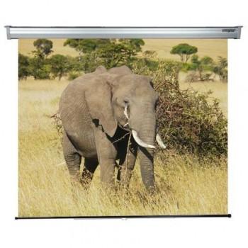 Ecran de proiectie montabil pe perete Sopar Platinum, 200 x 210cm, Mecanism de blocare, 3200PL, SP3200PL