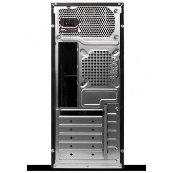 Carcasa RPC AA550BE, sursa 550W, Middle Tower, ATX, 2xUSB2.0, vent. opt.: spate 1x12cm, lateral 1x9cm, fata 1x9cm, HD audio, 3.35kg, negru