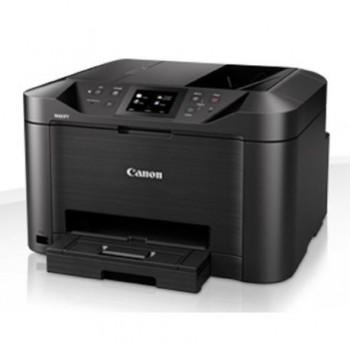 Multifunctional inkjet color Canon Maxify MB5150, dimensiune A4 (Printare, Copiere, Scanare, Fax), duplex, viteza 24ipm alb-negru, 15.5ipm color,