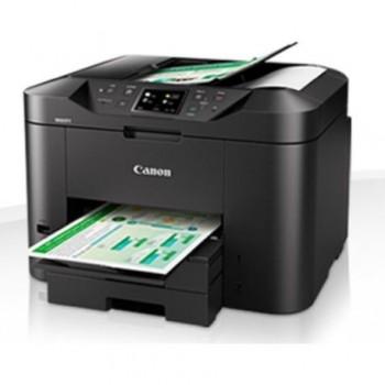Multifunctional inkjet color Canon Maxify MB2750, dimensiune A4 (Printare, Copiere, Scanare, Fax), duplex, viteza 24ipm alb-negru, 15.5ipm color,