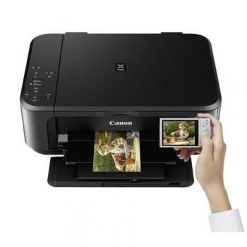 Multifunctional inkjet color Canon Pixma MG3650, dimensiune A4 (Printare, Copiere, Scanare), duplex, viteza 9.9ipm alb-negru, 5.7ppm color, rezolutie