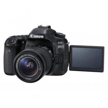 Camera foto Canon EOS80D EF18-55S, 24MP, CMOS,3