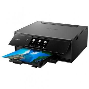 Multifunctional inkjet color Canon Pixma TS9150 Dark Grey, dimensiune A4 (Printare, Copiere, Scanare), viteza 15ipm alb-negru, 10ipm color, rezolutie