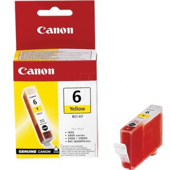 Cartus Canon BCI6Y, 13 ml, galben