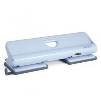 Perforator metalic Rapesco 720, cu 4 perforatii, 22 coli, bleu fondant