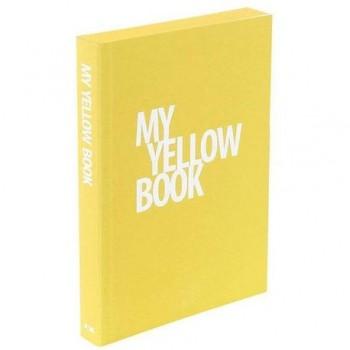 Notes Nava My Book, A5, galben