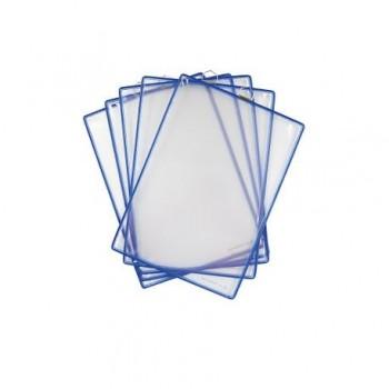 Buzunar de prezentare Tarifold Hanging, A4, vertical, 5 bucati/set, albastru