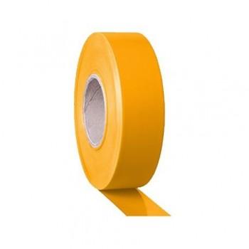 Banda adeziva Tarifold, pentru marcaj, 150 microni, 50 mm x 33 m, adeziv PVC, galben