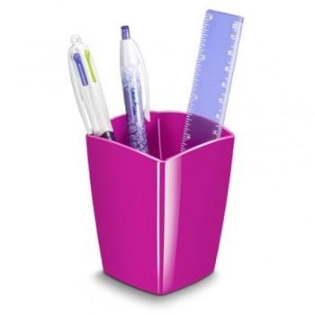 Suport instrumente de scris CEP Gloss, roz